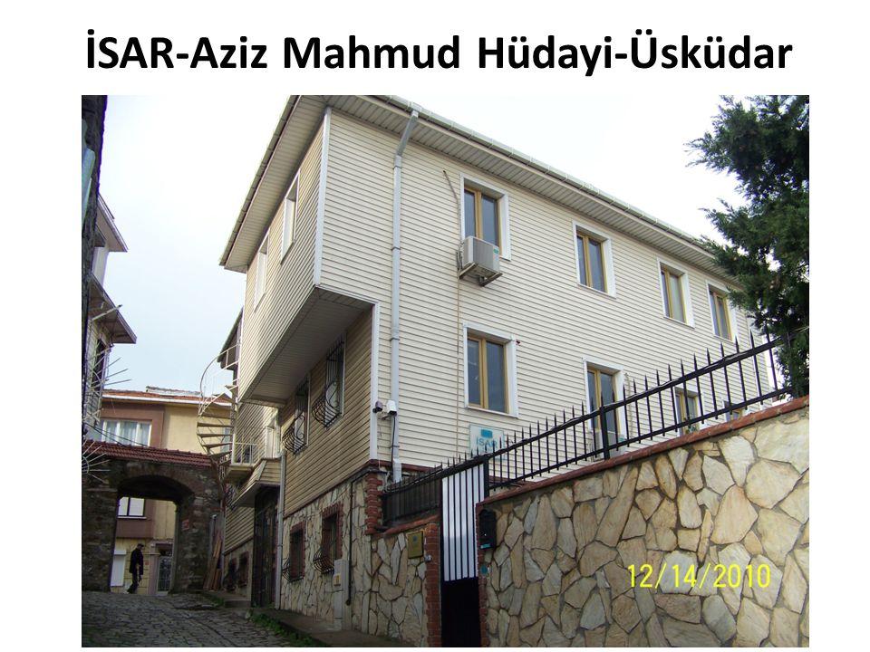 İSAR-Aziz Mahmud Hüdayi-Üsküdar