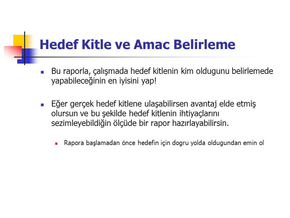 Proposal Kitle Tasarı Analizi Types of proposals Typical Components of Proposals Usibility Considerations