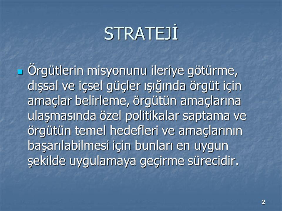 23 Stratejik planlama sürecinde rol alan kamu idareleri; birbirleri ile uyum, işbirliği, eşgüdüm ve tamamlayıcılık içinde çalışırlar.
