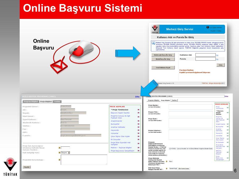 Online Başvuru Sistemi 6