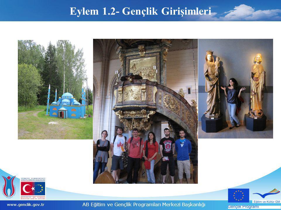 18 www.genclik.gov.tr AB Eğitim ve Gençlik Programları Merkezi Başkanlığı www.ua.gov.