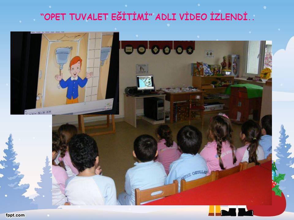 """OPET TUVALET EĞİTİMİ"" ADLI VİDEO İZLENDİ.."