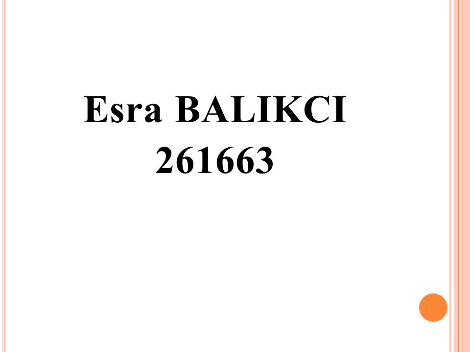 Esra BALIKCI 261663