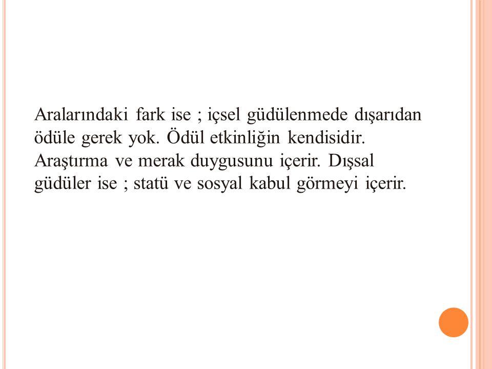 KAYNAKÇA Karip, Emin.Sınıf Yönetimi.Ankara: Pegem A Yayıncılık.2004 Kaya, Zeki.