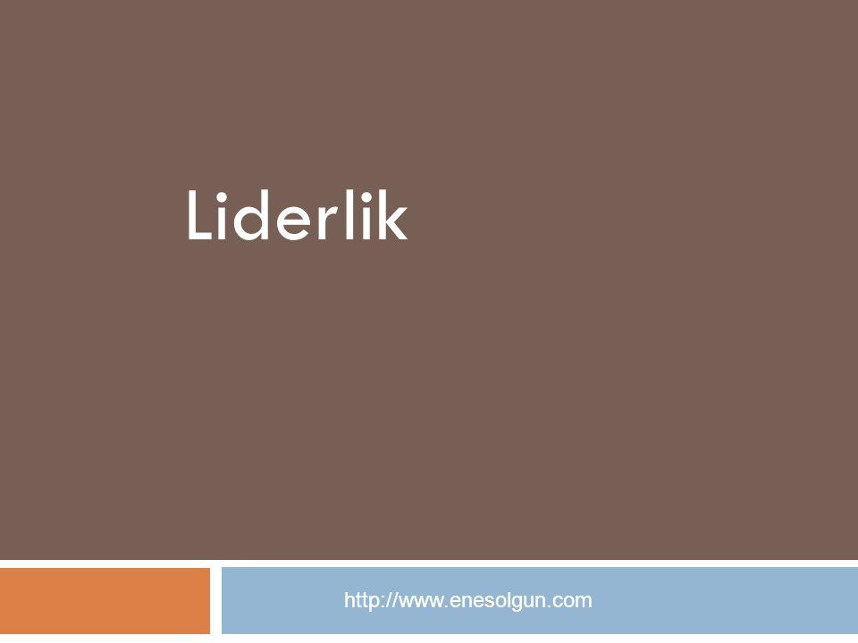 Liderlik http://www.enesolgun.com