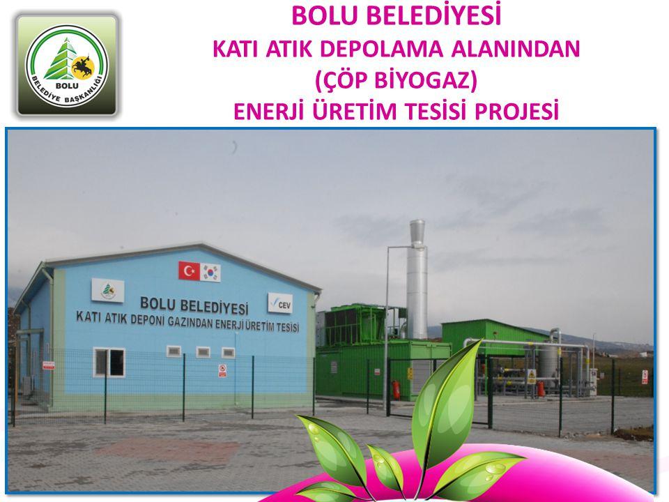 Başlangıçta 1,1 MW kapasiteyle, 5 Milyon KWh/yıl elektrik üretimi gerçekleşmesi hedeflenmekte olup, tesis kapasitesinin rehabilitasyon sonucu kademeli olarak arttırılması planlanmaktadır.