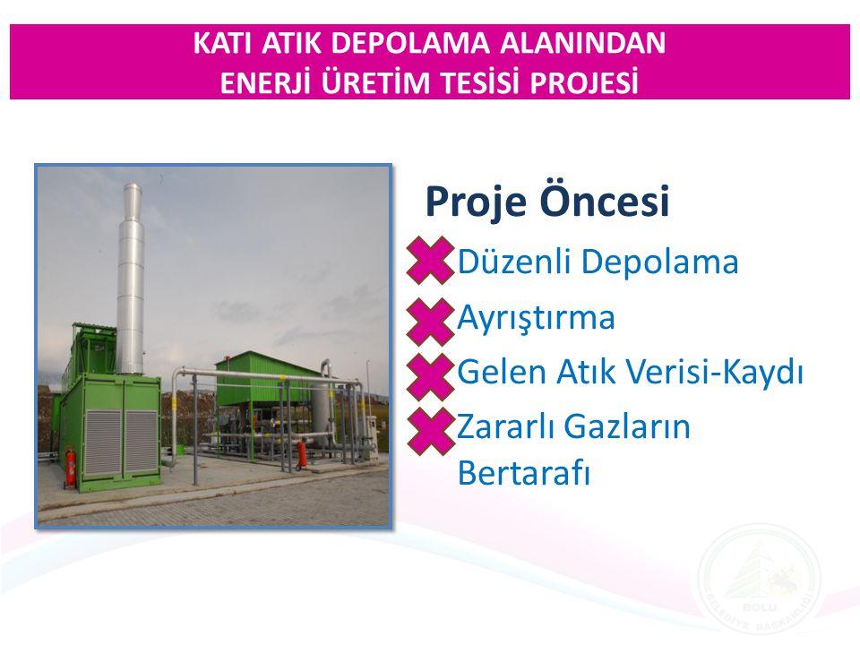 T.C.Bolu Belediyesi CEV MARMARA Enerji Üretim San.