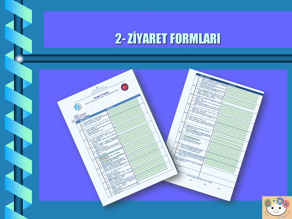 12 2- OKUL, YURT VE PANSİYONLAR'I HABERLİ – HABERSİZ ZİYARETLER