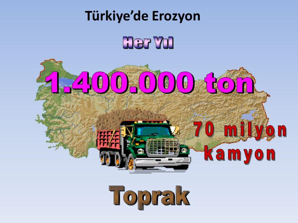 Türkiye'de Erozyon