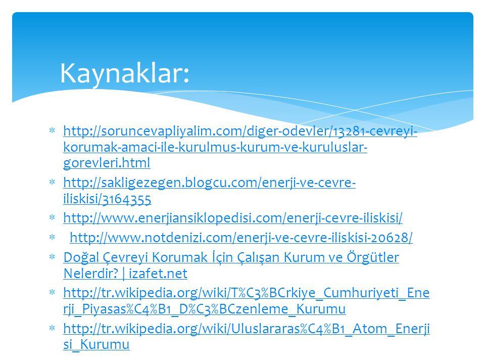  http://soruncevapliyalim.com/diger-odevler/13281-cevreyi- korumak-amaci-ile-kurulmus-kurum-ve-kuruluslar- gorevleri.html http://soruncevapliyalim.co