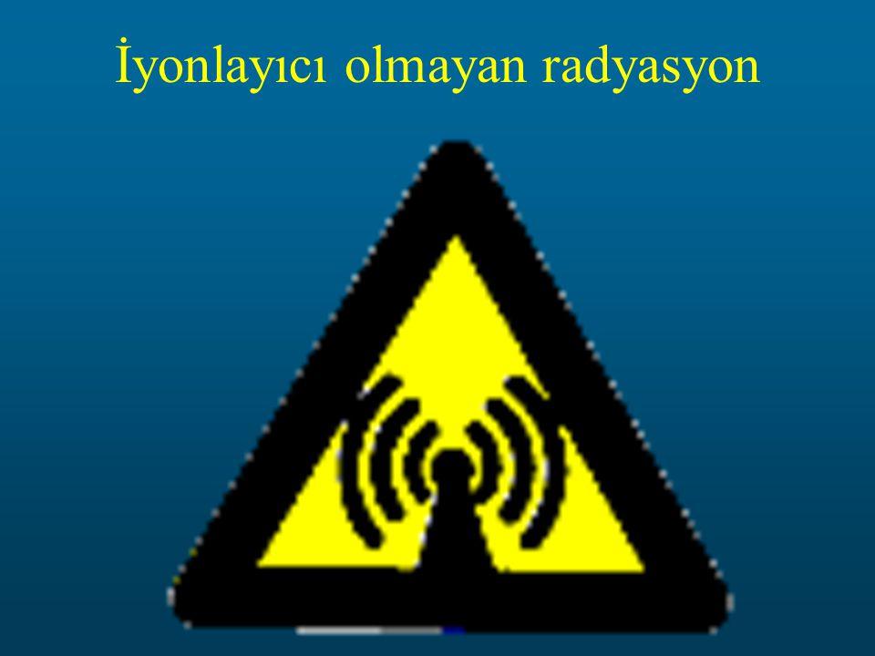 İyonlayıcı olmayan radyasyon