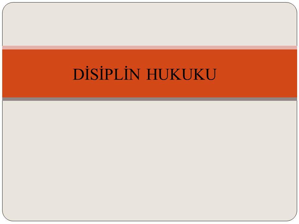 ETKİLİ HALLER (2) Disiplin soruşturması ve cezasını etkileyen süreler Disiplin soruşturmaları açısından iki tür zamanaşımı vardır.