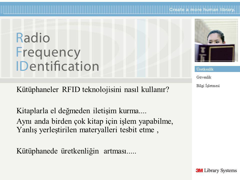 Barkod yerine neden RFID.Standart barkodlar sadece üreticiyi ve ürünü tanımlar.