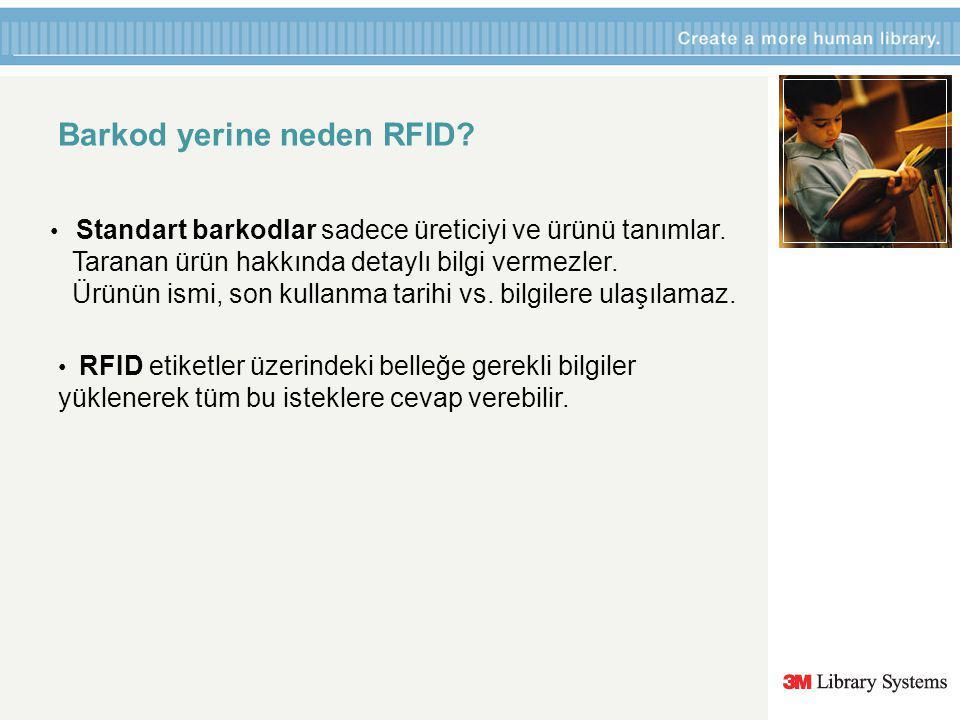 RFID Etiketler / Barkod Etiketlerin yerini alacak….