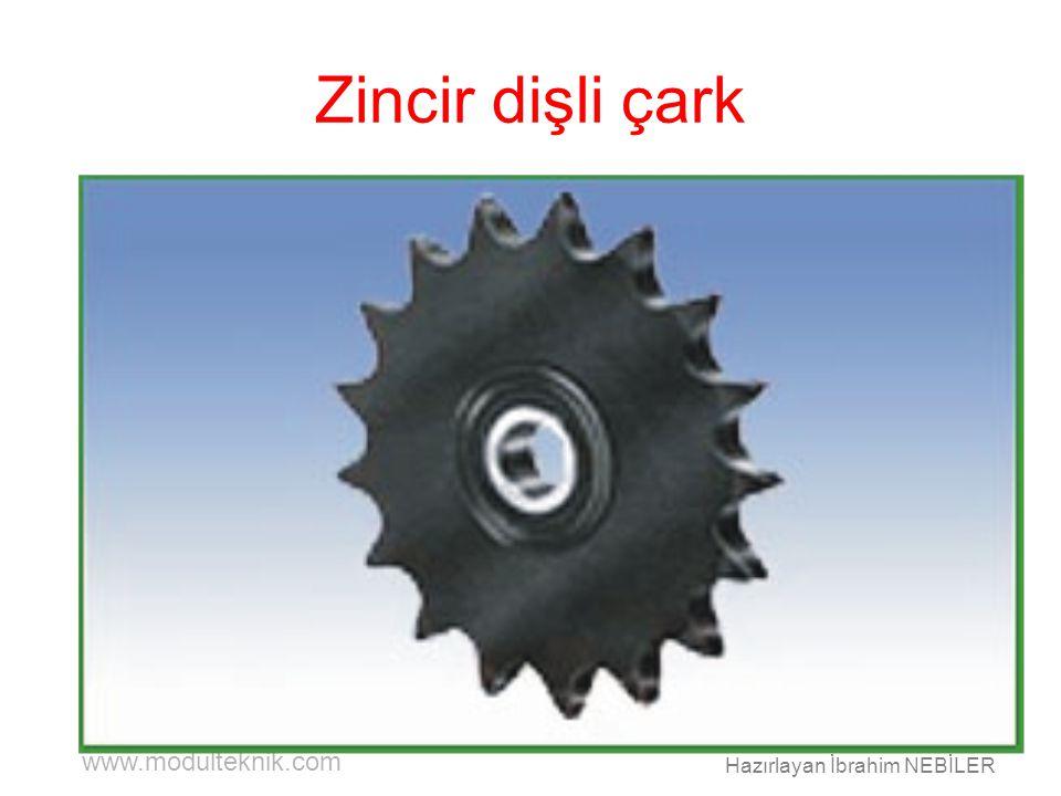 www.modulteknik.com Hazırlayan İbrahim NEBİLER Zincir dişli çark