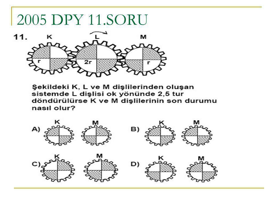 2005 DPY 11.SORU