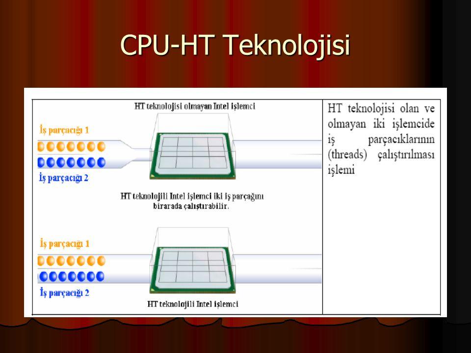 CPU-HT Teknolojisi