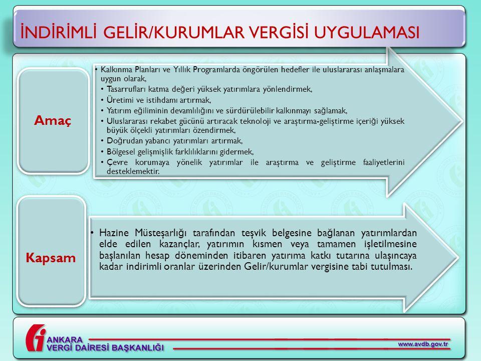GEÇMİŞ YIL ZARARLARI-3 Örnek Ankara'da makine ve teçhizat imalatı yapmak amacıyla yatırımcı bir şirket 16.07.2009 tarihinden sonra teşvik belgesi alarak 8.250.000-TL'lik harcama yapmıştır.