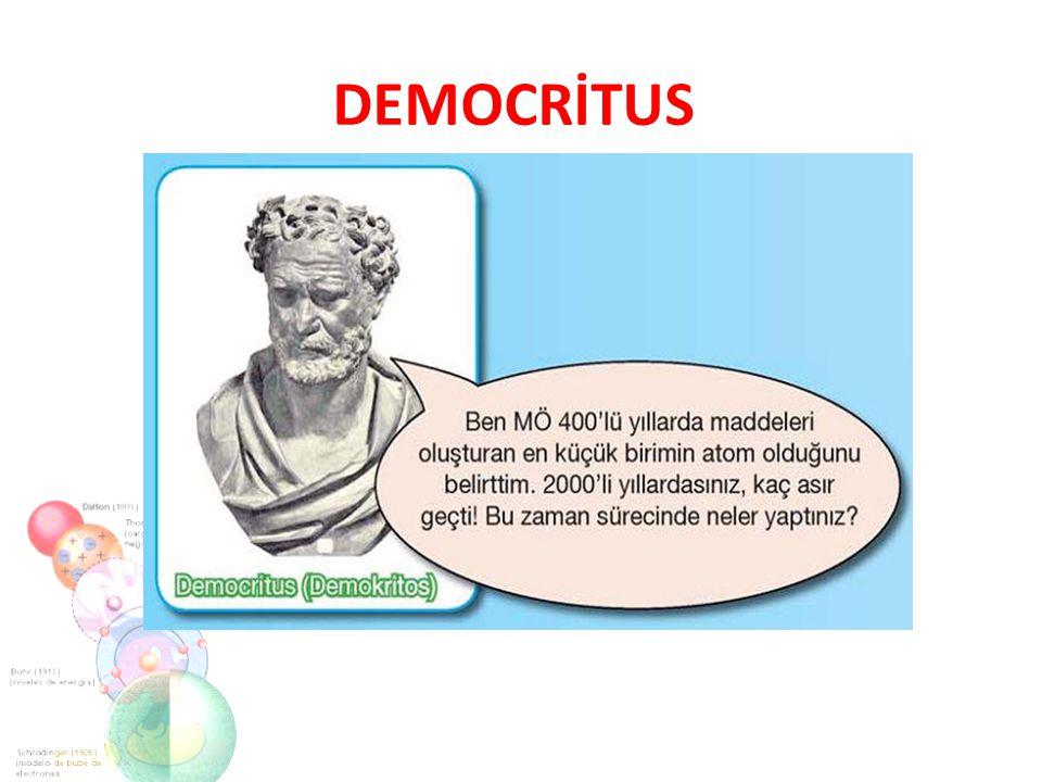 DEMOCRİTUS