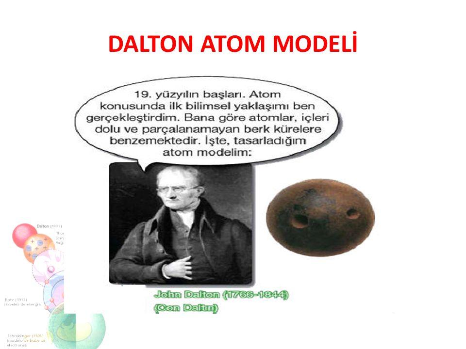 Thomson atom teorisine göre: Atom protonlardan oluşmuş küre şeklindedir.Protonlar (+1) birim yüke,elektronlar ise (-1) birim yüke sahiptir.