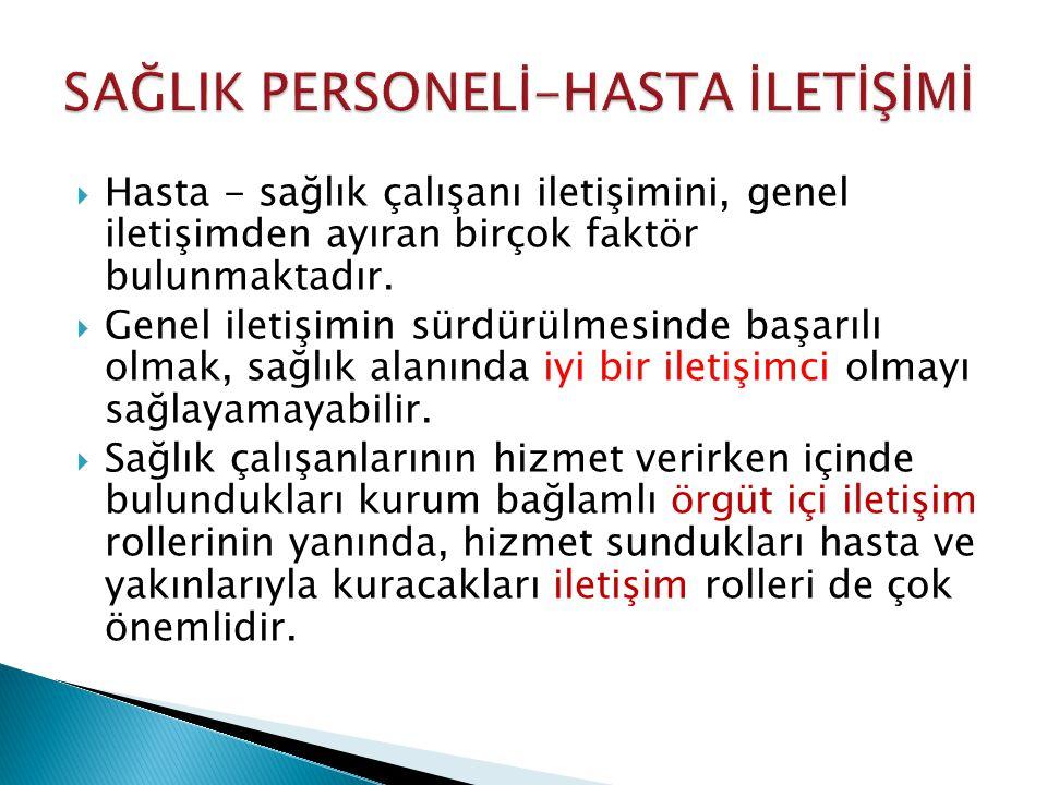  Hasta Hakları Yönetmeliğinde, Bilgi Vermenin Usulü başlıklı 18.