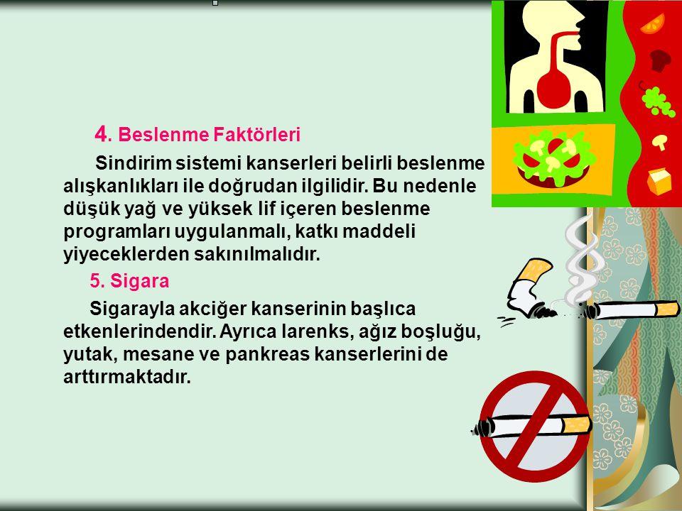 KANSER NEDEN OLUŞUR ? 1Radyasyon 2. Hava kirliliği Hava kirliliği tek başına ya da sigara içilmesi ile birlikte akciğer kanserlerinin %10'nunda etkend