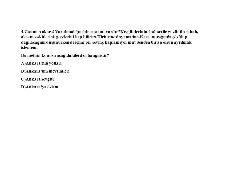 4.Canım Ankara.