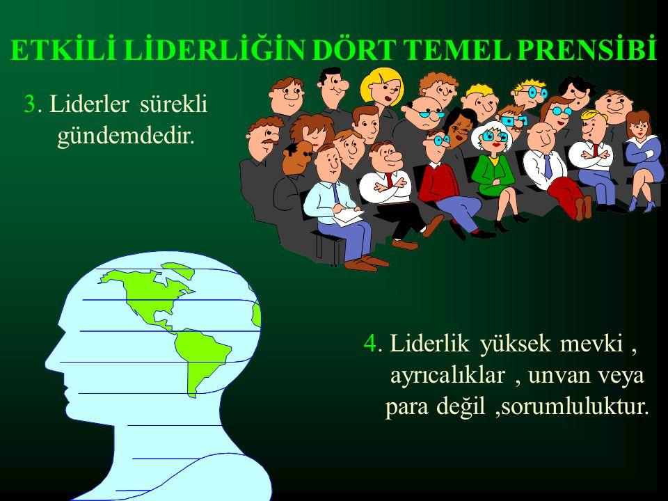 ETKİLİ LİDERLİĞİN DÖRT TEMEL PRENSİBİ.4.