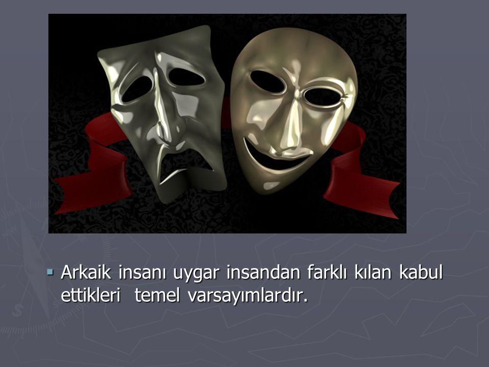 ► Modern toplumda bireyin akılcı durumu duygusallıkla mantık arasında sıkışıp kalmıştır.