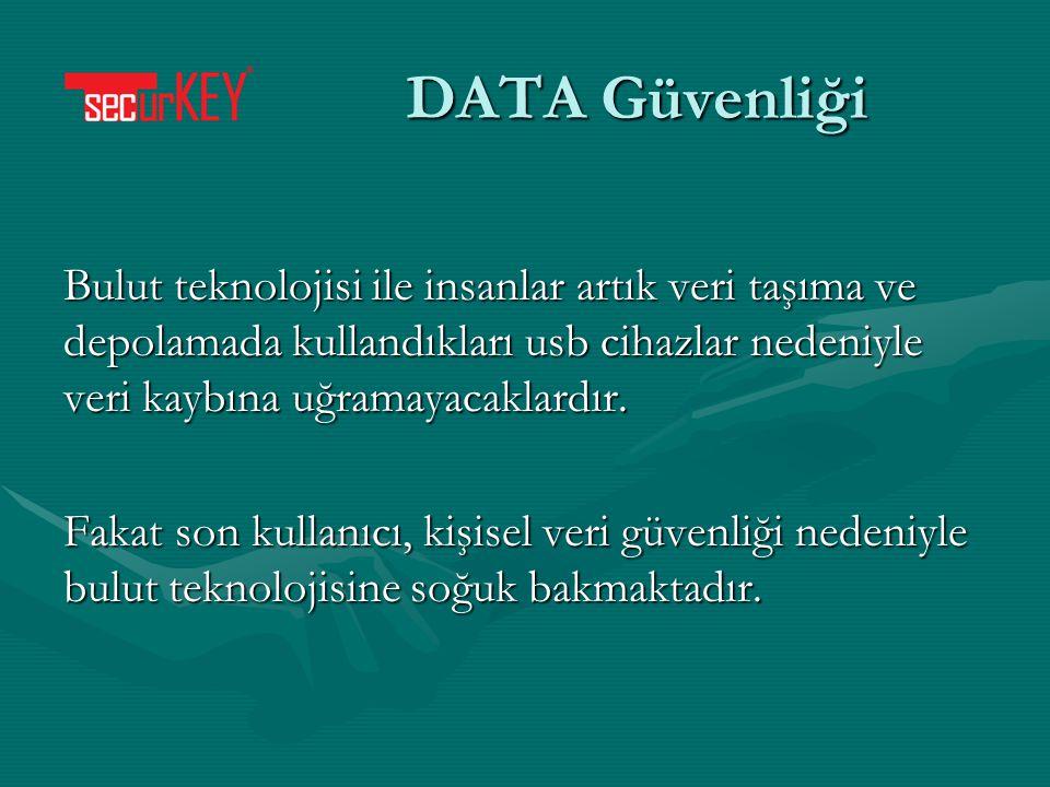 Bulut teknolojisi ile insanlar artık veri taşıma ve depolamada kullandıkları usb cihazlar nedeniyle veri kaybına uğramayacaklardır.