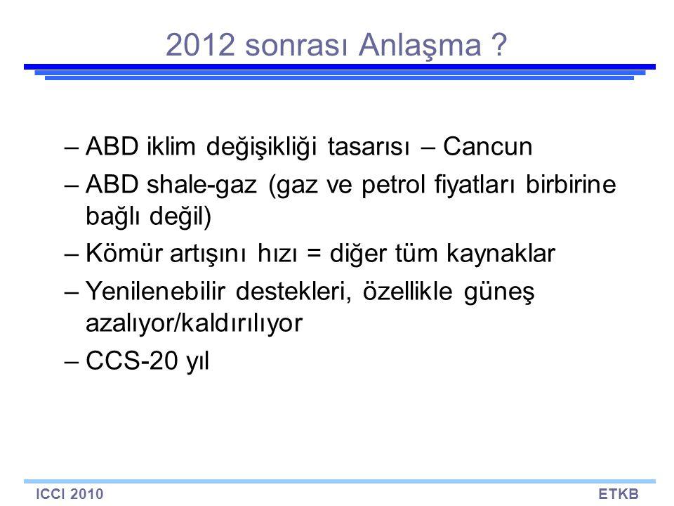 ICCI 2010ETKB 2012 sonrası Anlaşma .