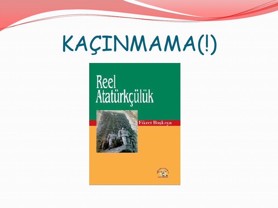 KAÇINMAMA(!)
