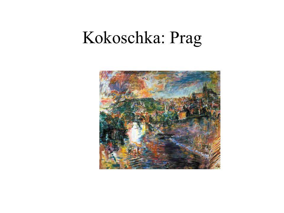 Kokoschka: Prag