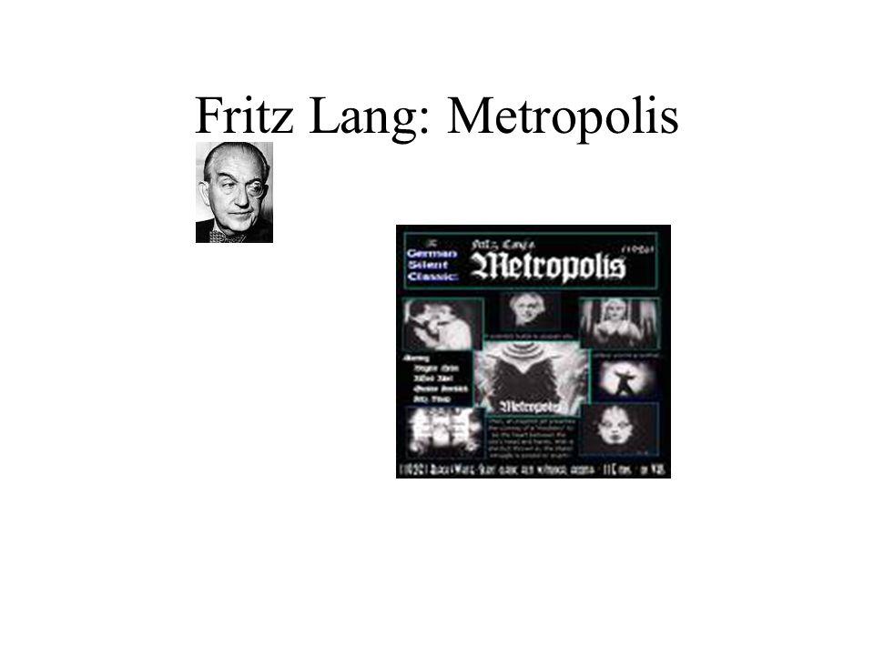 Fritz Lang: Metropolis