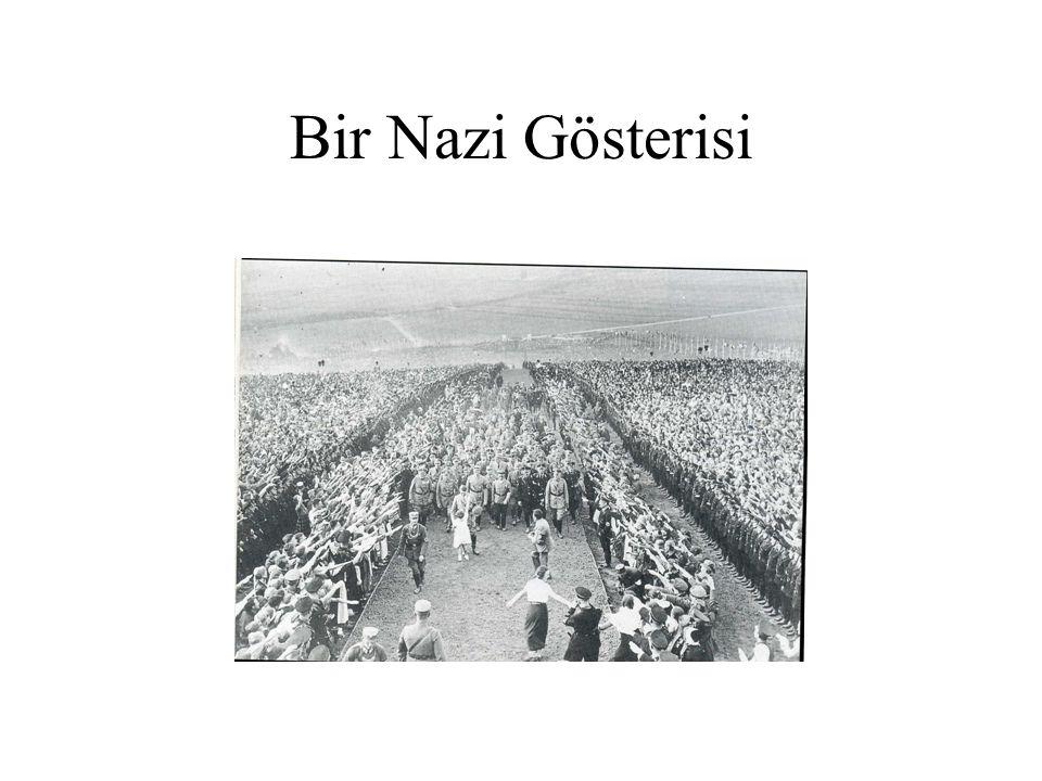Bir Nazi Gösterisi