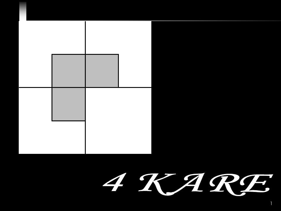2 4 Kare Problemi B A D C Bu şekle iyi bakınız Şimdi size bu kare ile ilgili 4 soru sorulacaktır.