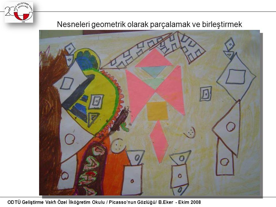 Öğrencilerin geometrik bilgi ve becerilerinin gelişmesi için geometrik şekilleri sınıflamaları,yeni şekiller oluşturması elle çizim yapmaları gerekir.