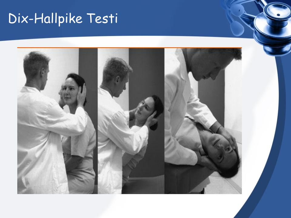 Dix-Hallpike Testi