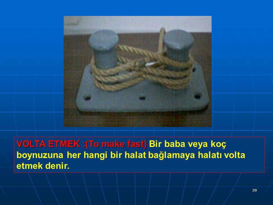 38 GIRCALA :(Marline) GIRCALA :(Marline) Katranlı kalın sicime gırcala denir.