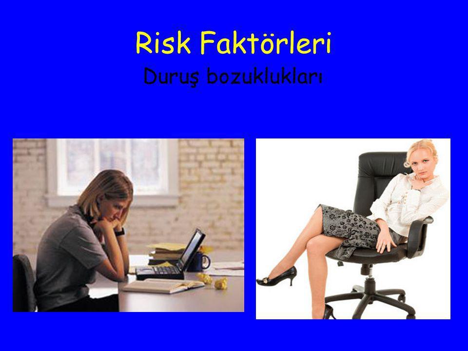 Risk Faktörleri Duruş bozuklukları