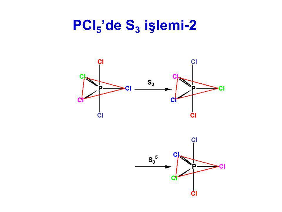 PCl 5 'de S 3 işlemi-2