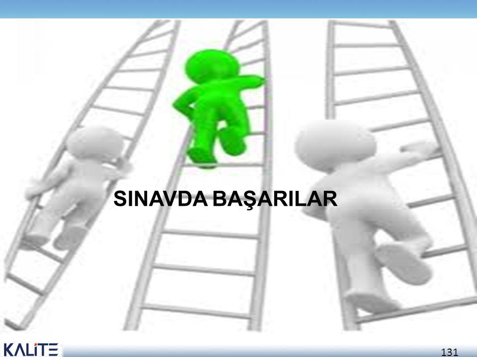 131 SINAVDA BAŞARILAR