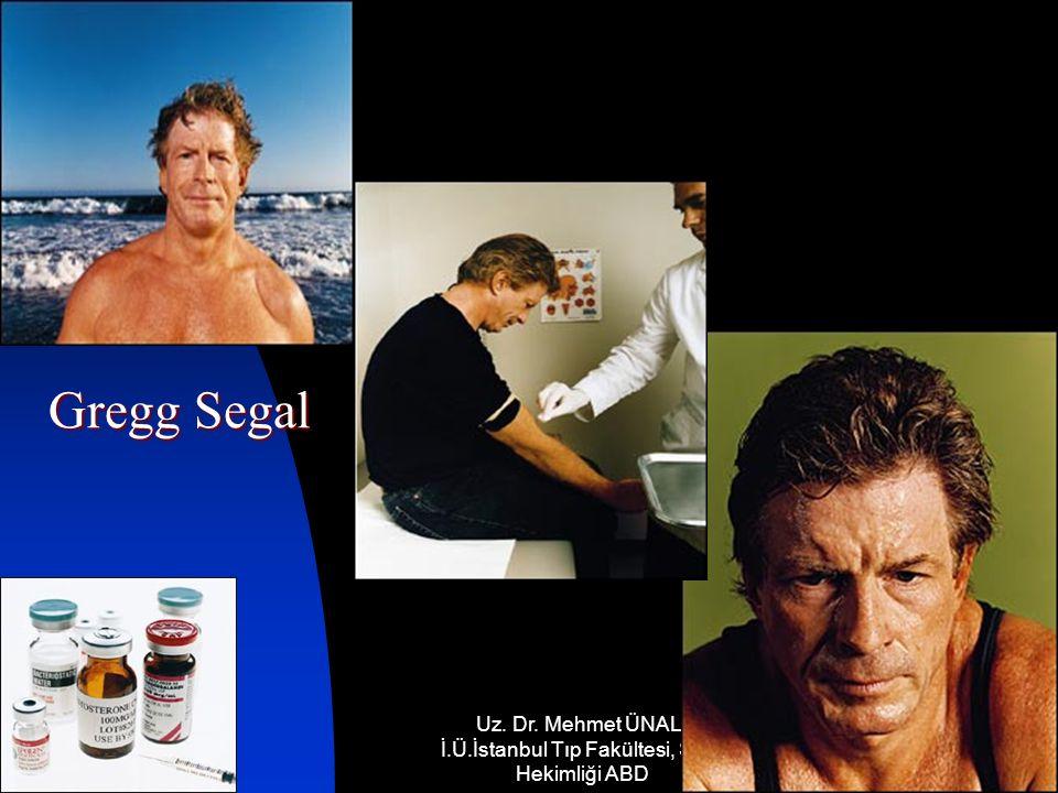 17.12.2014 Uz. Dr. Mehmet ÜNAL, İ.Ü.İstanbul Tıp Fakültesi, Spor Hekimliği ABD 32 Gregg Segal