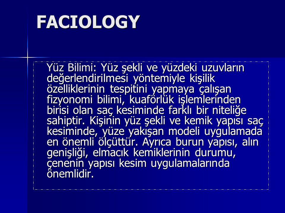 FACIOLOGY Yüz Bilimi: Yüz şekli ve yüzdeki uzuvların değerlendirilmesi yöntemiyle kişilik özelliklerinin tespitini yapmaya çalışan fizyonomi bilimi, k