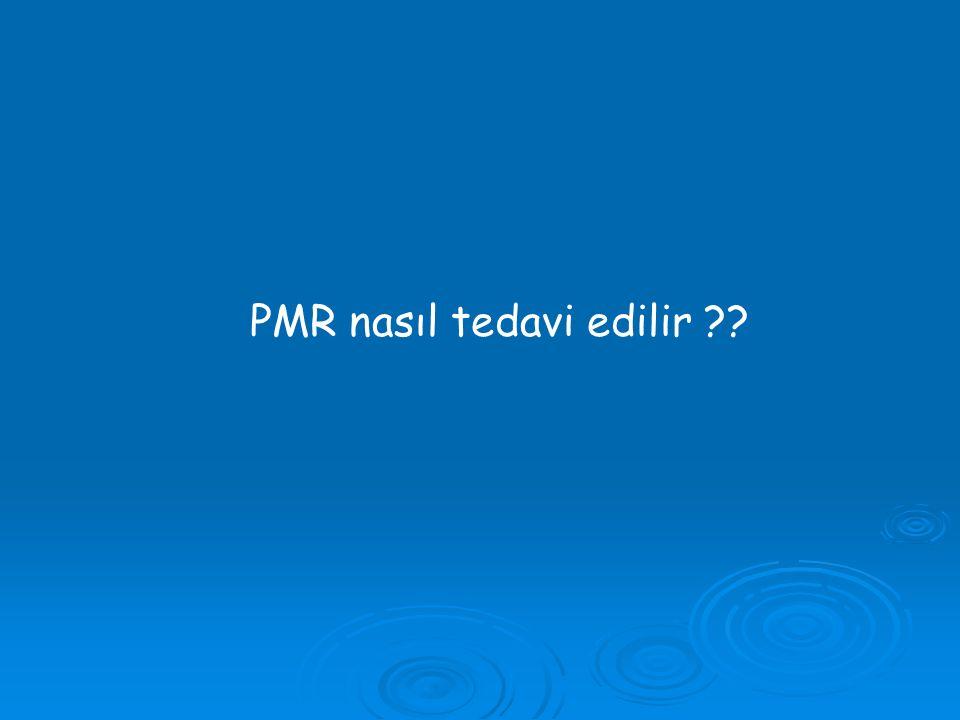 PMR nasıl tedavi edilir ??