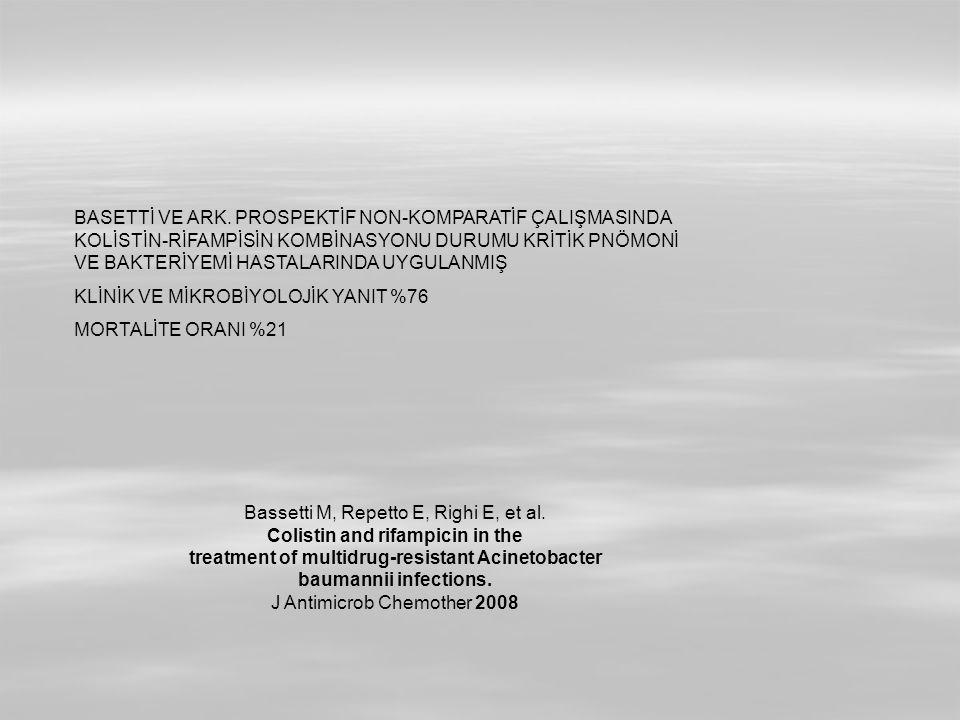 Bassetti M, Repetto E, Righi E, et al.