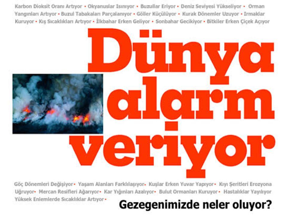 Peki Türkiye'de durum ne.Akdeniz hızla kuruyor.