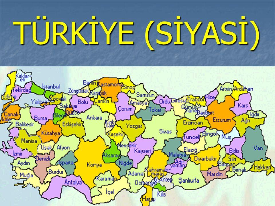 **Türkiye'nin en küçük ve en az nüfuslu bölgesidir.