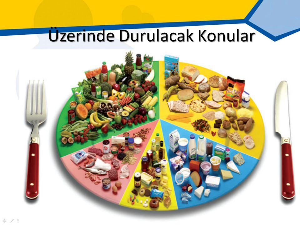 Vejetaryen Diyetler; Doymuş yağ, Kolesterol, Hayvansal protein içeriği omnivor (hem et hem ot tüketen) diyetlerden daha düşük, Kompleks karbonhidrat, Posa, Magnezyum, Folik asit, C ve E vitamini, Karotenoid ve Diğer fitokimyasal içerikleri daha yüksek.