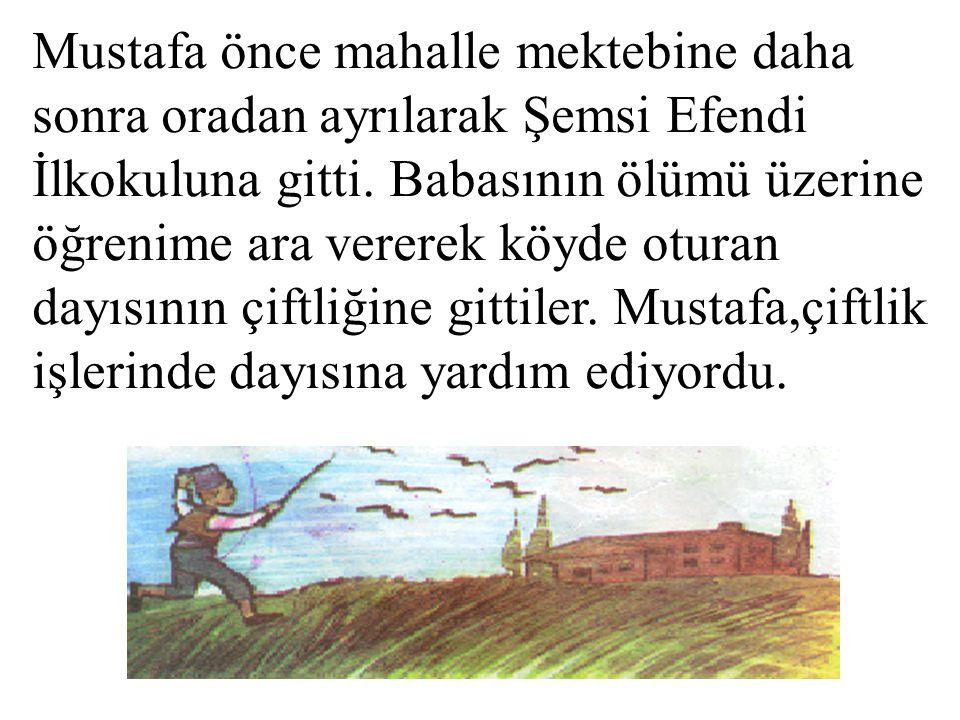 ATATÜRK'ÜN HAYATI Atatürk'ün doğumu ve çocukluğu: Atatürk 1881 yılında Selanik'te doğdu. Babası Ali Rıza bey; annesi Zübey de Hanım'dır.